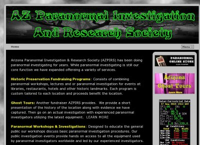 AZ paranormal Investigations & Research Society