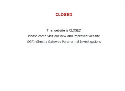 GGPI - Ghostly Gateway Paranormal Investigations