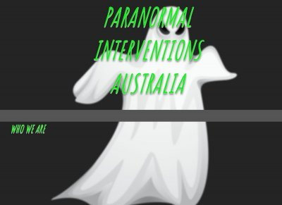 Paranormal Interventions Australia