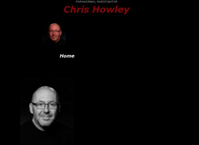 Chris Howley Paranormal Investigator