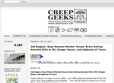 CreepGeeks Podcast