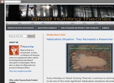 Ghost Hunting Theories