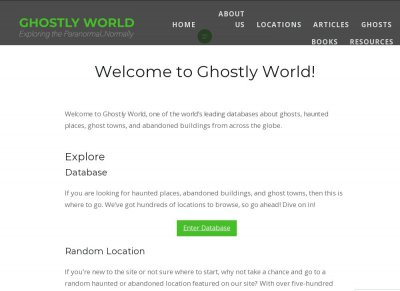 Ghostly World