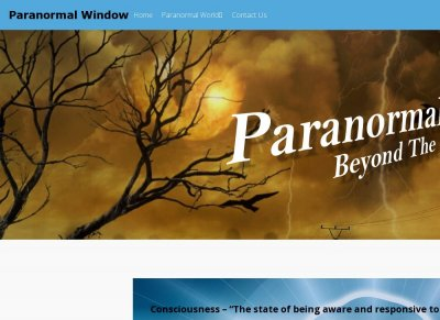 Paranormal Window