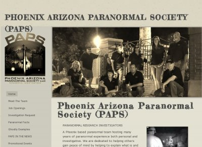 Phoenix Arizona Paranormal Society