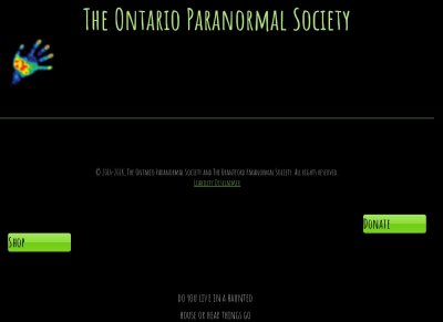 The Brantford Paranormal Society